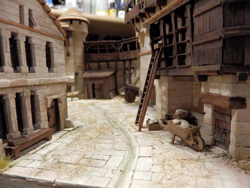 Village médiéval fortifié (2) - Page 10 P2210022
