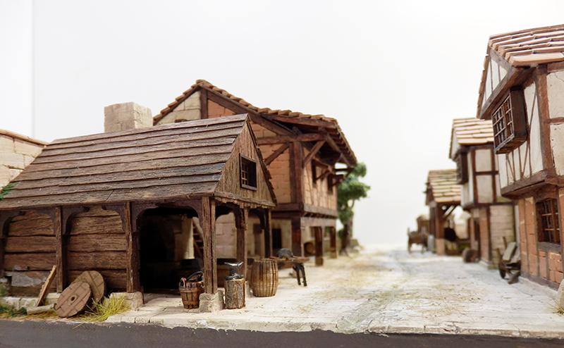 Village médiéval fortifié (2) - Page 10 P2210027