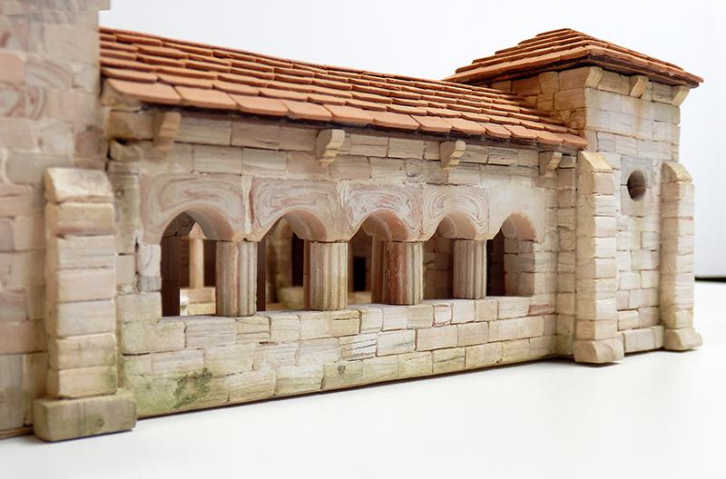 Village médiéval fortifié 14è- bastide - éch1:87 P3120048