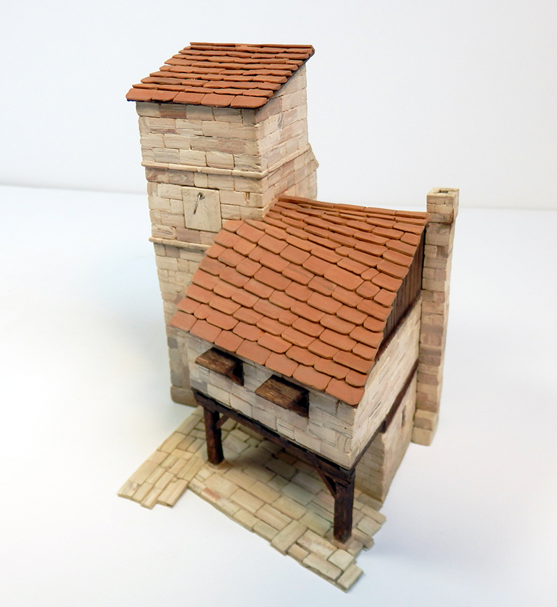 Village médiéval fortifié 14è- bastide - éch1:87 P4120028