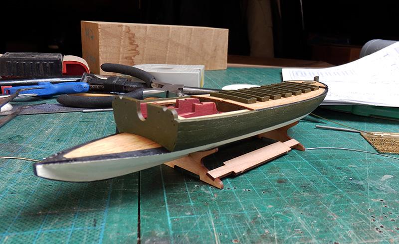 Canonnière 1801 - éch1/72 - Master Korabel  P4210010
