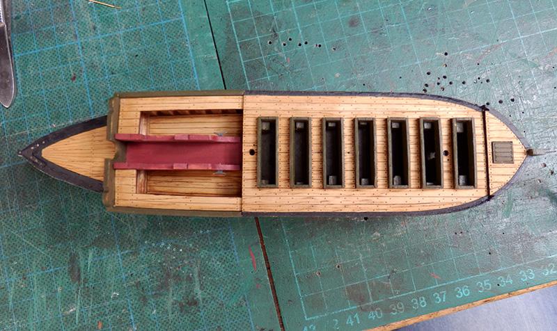 Canonnière 1801 - éch1/72 kit Master Korabel  P4210012