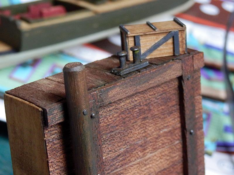 Canonnière 1801 - éch1/72 - Master Korabel  P4230010