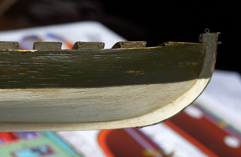 Canonnière 1801 - éch1/72 - Master Korabel  P4230014