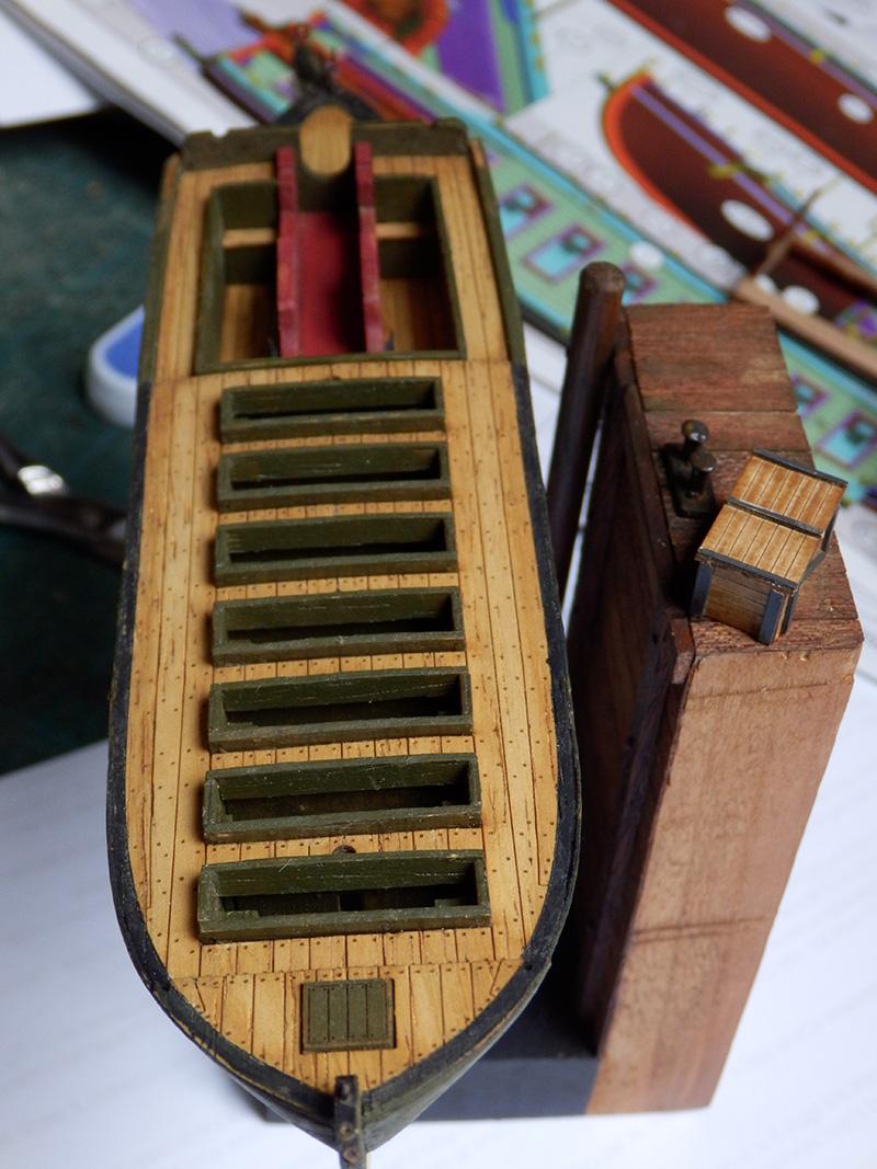 Canonnière 1801 - éch1/72 - Master Korabel  P4230017