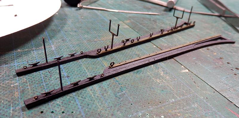 Canonnière 1801 - éch1/72 - Master Korabel  P4240010