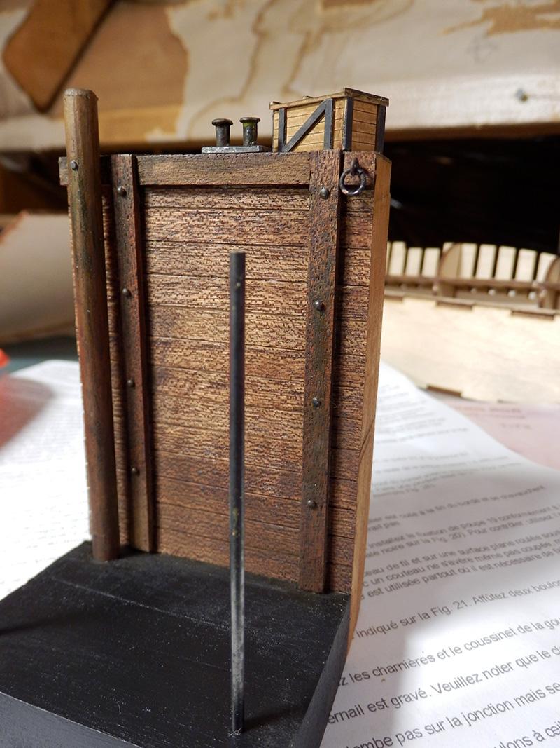 Canonnière 1801 - éch1/72 - Master Korabel  P4240015