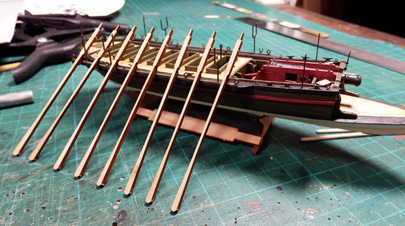Canonnière 1801 - éch1/72 - Master Korabel  P4260011
