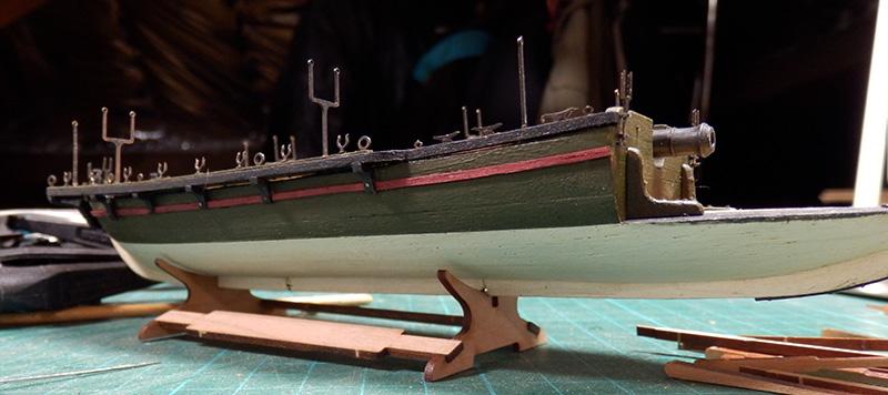Canonnière 1801 - éch1/72 - Master Korabel  P4260013