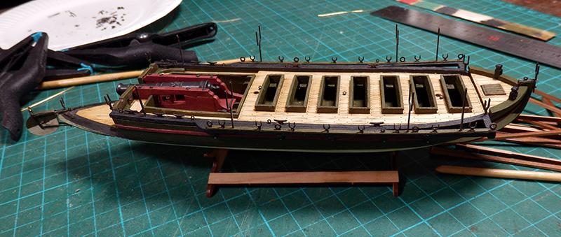 Canonnière 1801 - éch1/72 - Master Korabel  P4260016