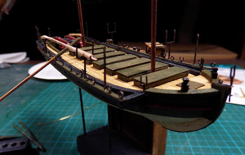 Canonnière 1801 - éch1/72 - Master Korabel  P4270011