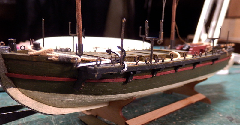 Canonnière 1801 - éch1/72 - Master Korabel  P5030013