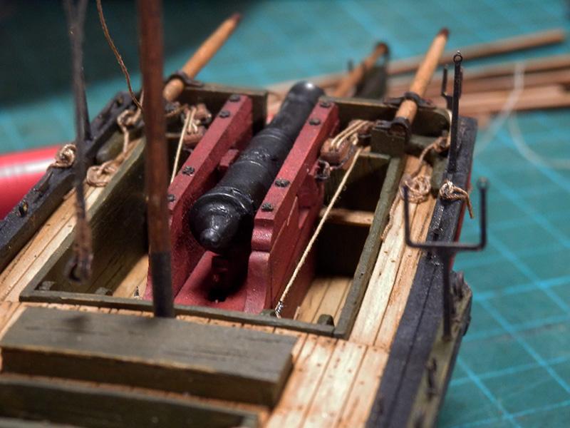 Canonnière 1801 - éch1/72 - Master Korabel  P5030015