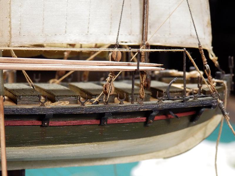 Canonnière 1801 - éch1/72 - Master Korabel  P5050016