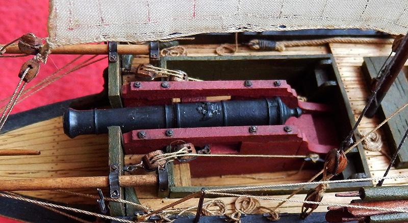 Canonnière 1801 - éch1/72 - Master Korabel  P5060010