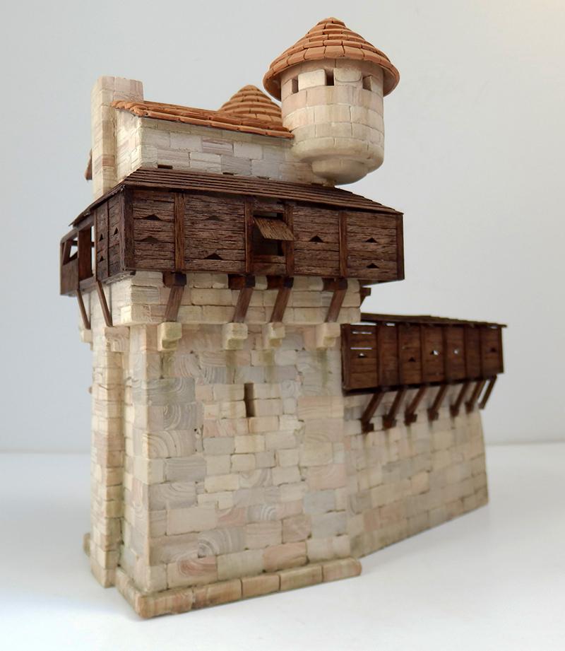 Village médiéval fortifié 14è- bastide - éch1:87 P5150025