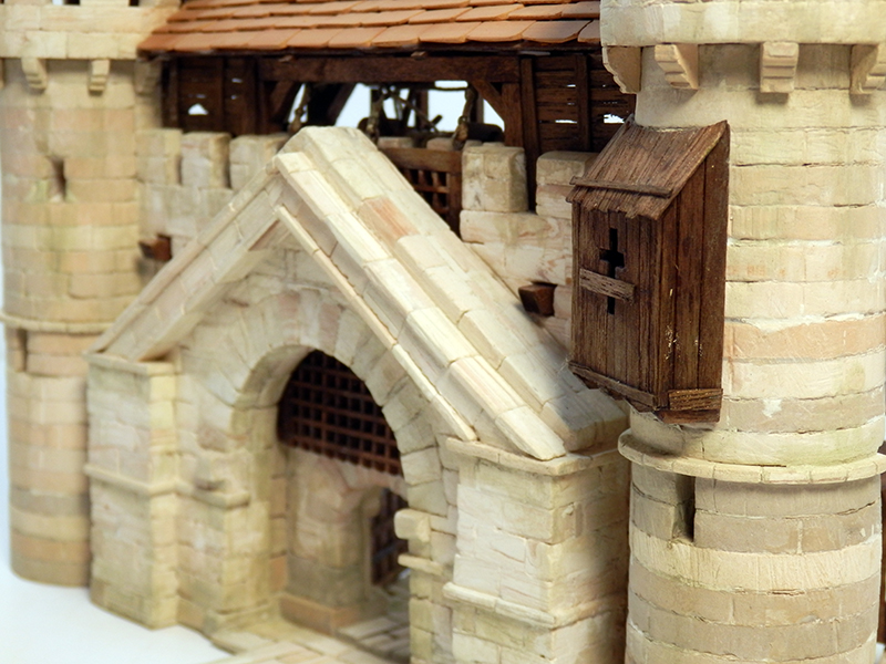 Village médiéval fortifié 14è- bastide - éch1:87 P6140027