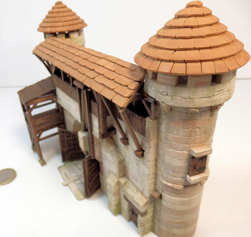 Village médiéval fortifié 14è- bastide - éch1:87 P6140032