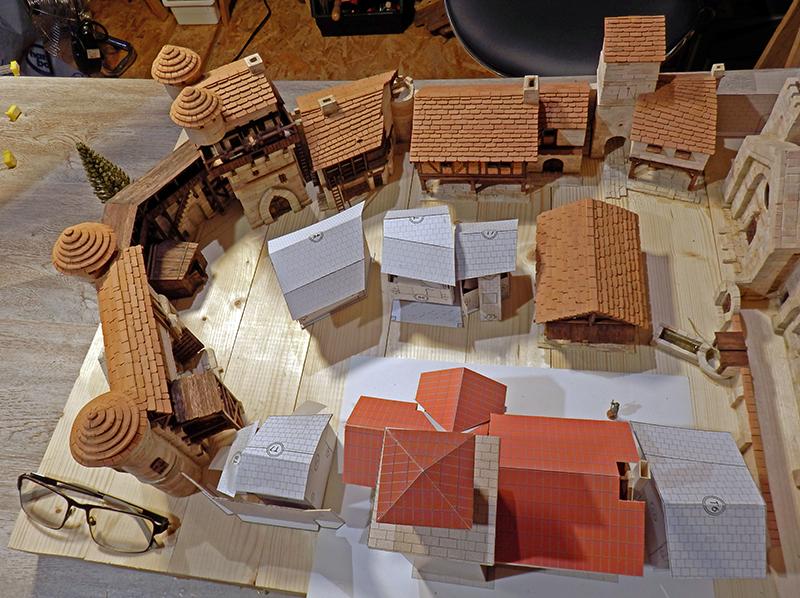 Village médiéval fortifié (1) - Page 22 P7090023