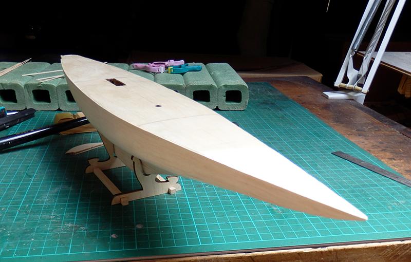 Endeavour 1934 - yacht J-class - 1:80 Amati P7280018