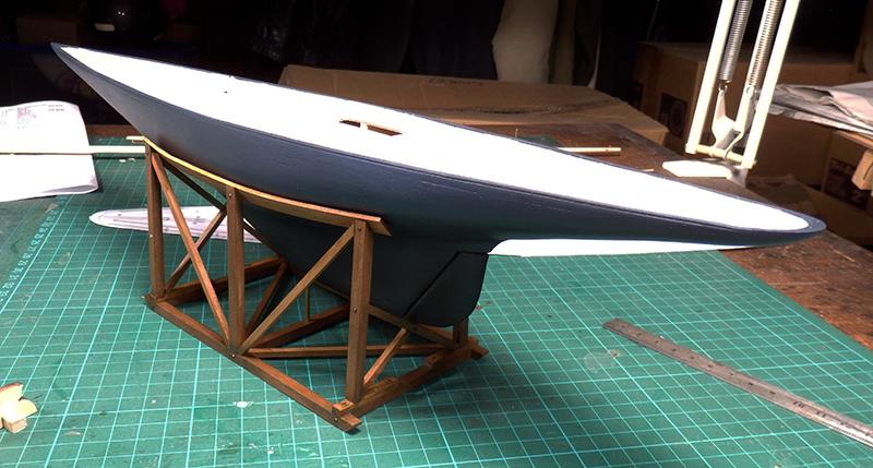 Endeavour 1934 - yacht J-class - 1:80 Amati P8130015