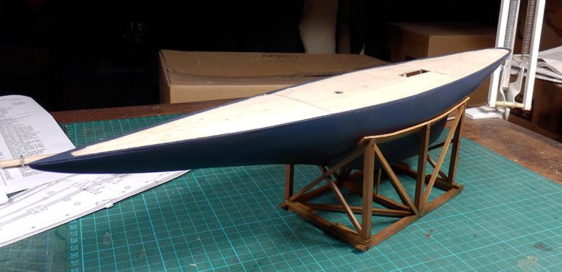 Endeavour 1934 - yacht J-class - 1:80 Amati P8130018