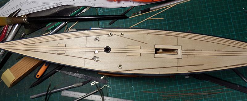 Endeavour 1934 - yacht J-class - 1:80 Amati - Page 2 P9070017