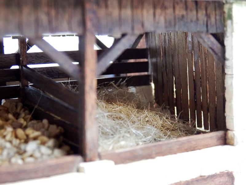 Village médiéval fortifié 14è- bastide - éch1:87 P9090029