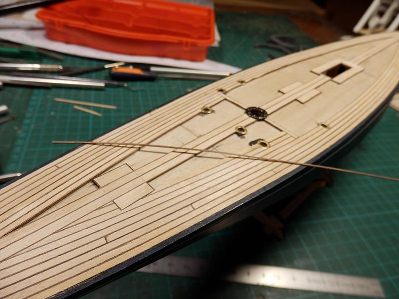 Endeavour 1934 - yacht J-class - 1:80 Amati - Page 2 P9100011