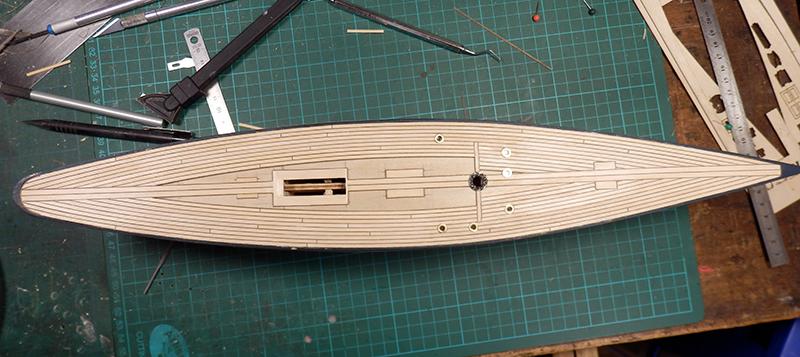 Endeavour 1934 - yacht J-class - 1:80 Amati - Page 2 P9140010