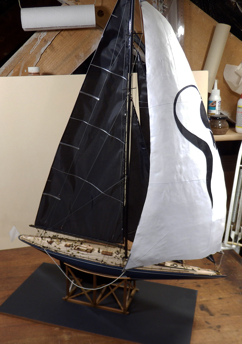 Endeavour 1934 - yacht J-class - 1:80 Amati - Page 5 Pa290015