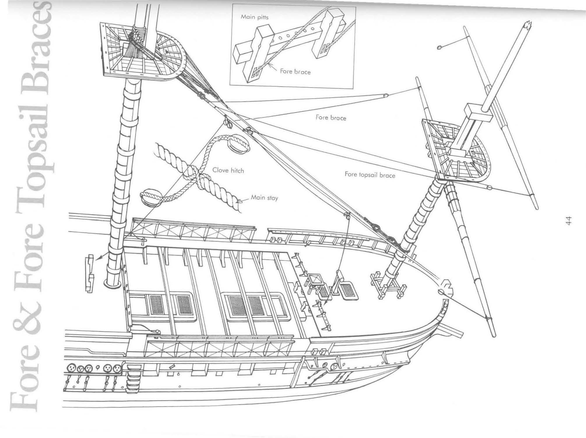 Frégate USS Constitution (Revell ~1/150°) de mcpleiades - Page 3 Page_d10