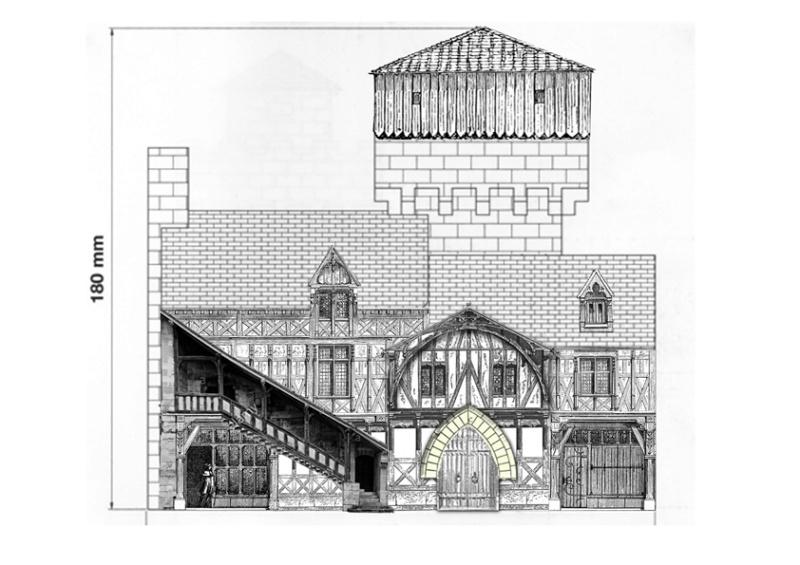 Village médiéval fortifié - Page 23 Plan310