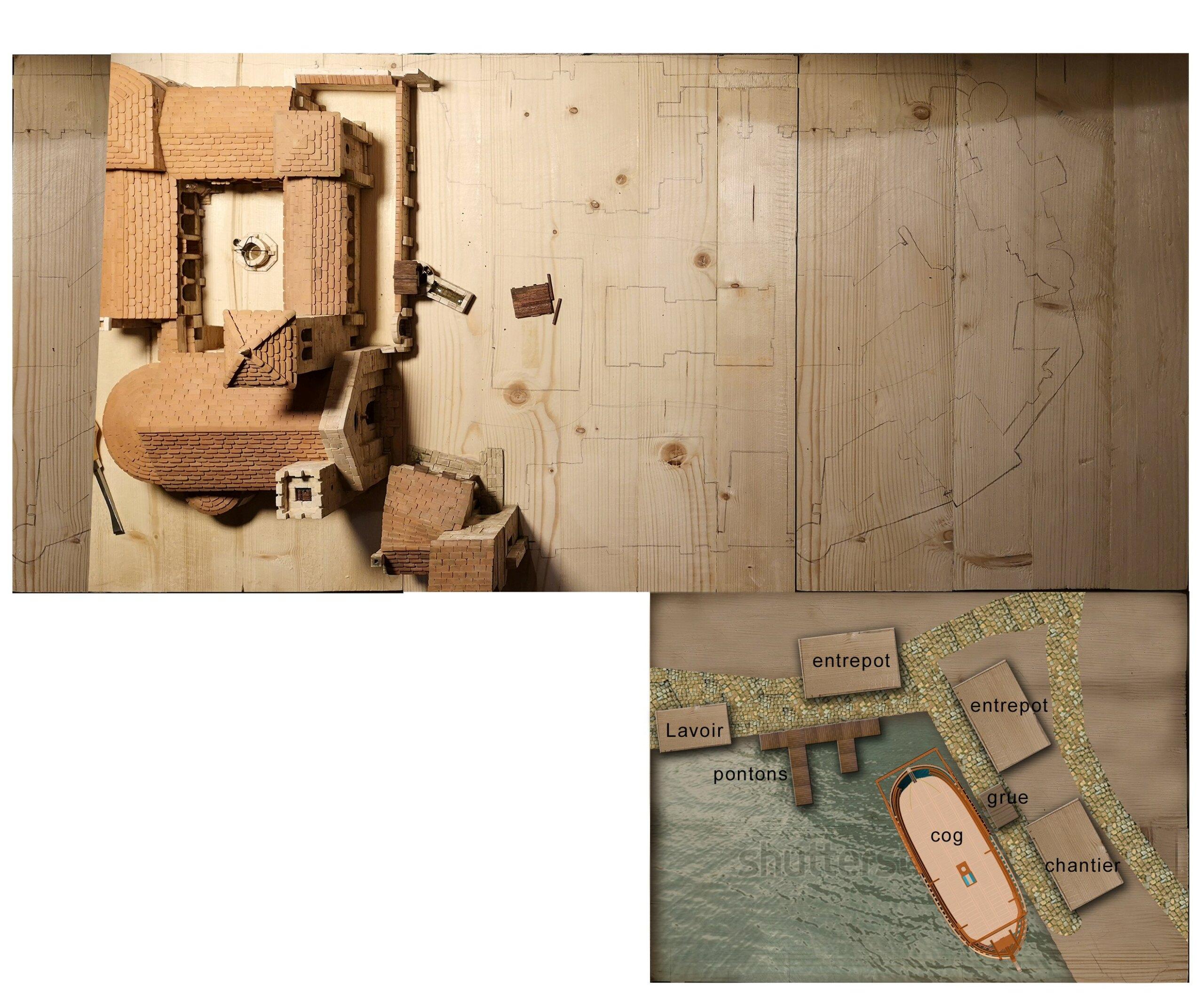 Village médiéval fortifié (1) - Page 37 Villag11