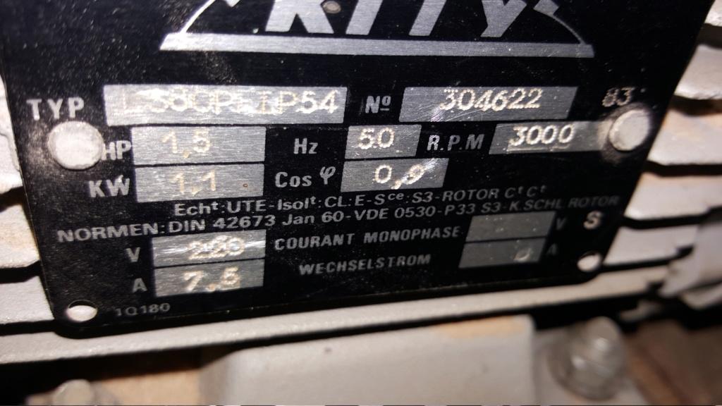 Changement moteur Kity 20190110