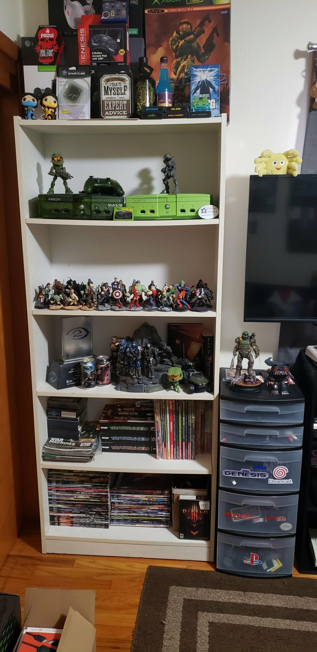Retro Game Collecting Room_210