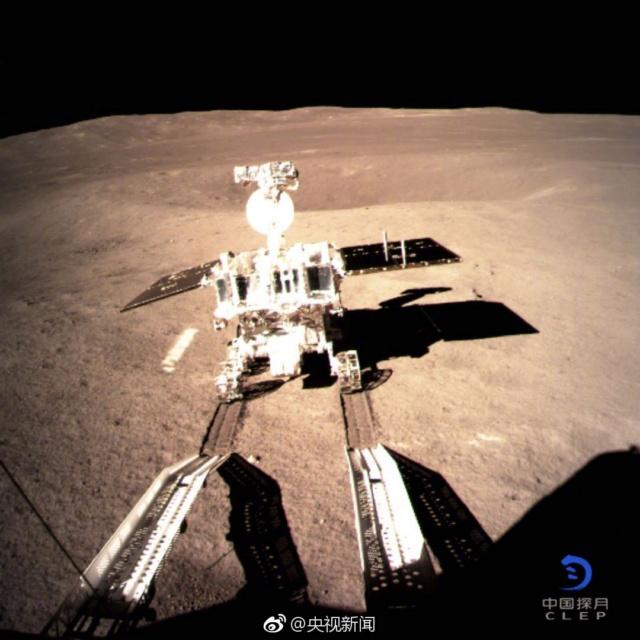 La Chine réussi un alunissage sur le face cachée de la lune 135910