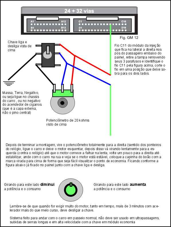 Piloto automático universal - semi-automático - Esquema Grátis Mzdulo10