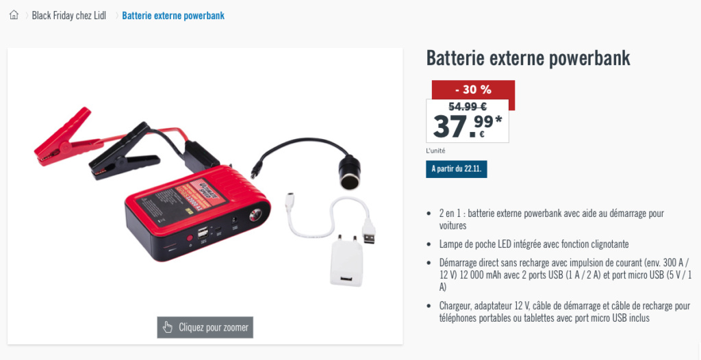 BATTERIE LITHIUM /ION question sur la recharge, demarrage câble  possible? - Page 2 Captur10