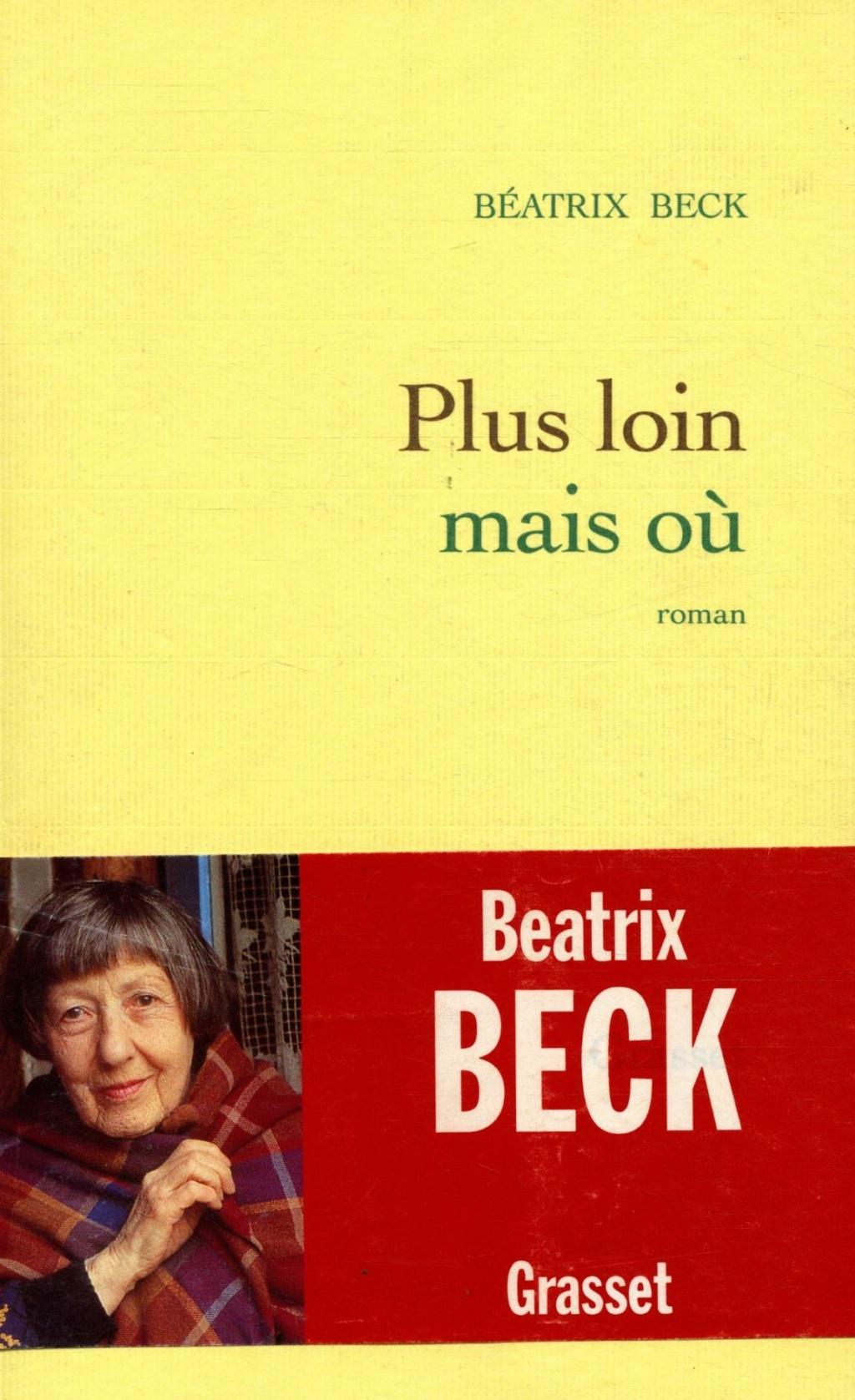 ecriture - Béatrix Beck - Page 2 Pluslo10
