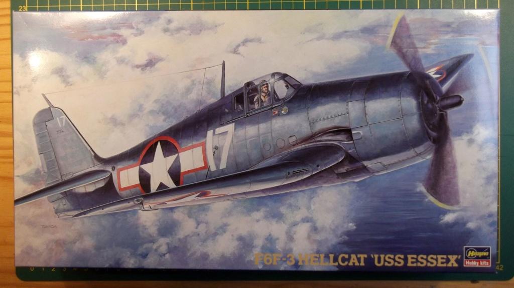 Hasegawa - F6F3 Hellcat - 1/48 Dscf8215