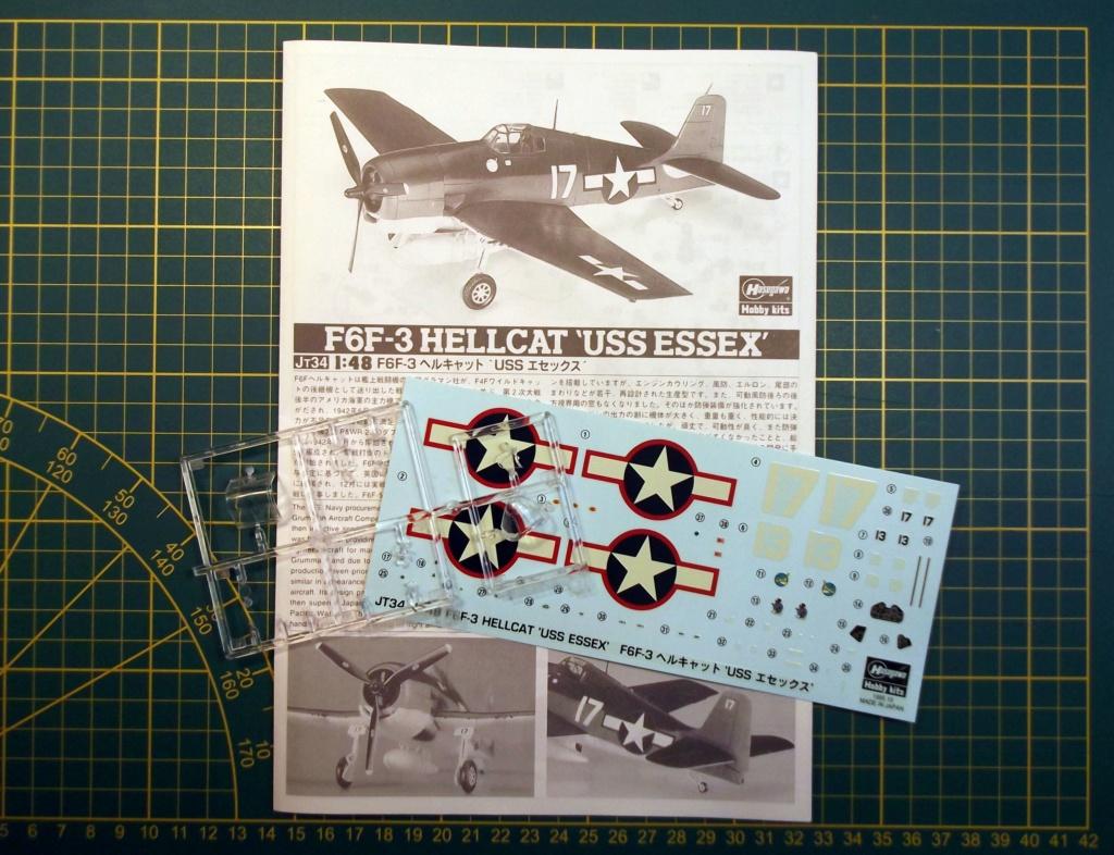 Hasegawa - F6F3 Hellcat - 1/48 Dscf8216