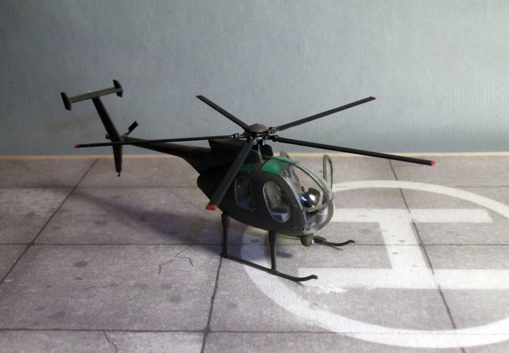 Scout (AH6) - Italeri - 1/72 Dscf8310