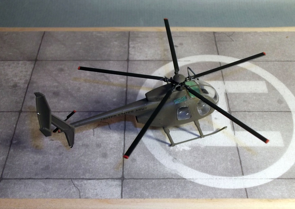 Scout (AH6) - Italeri - 1/72 Dscf8311
