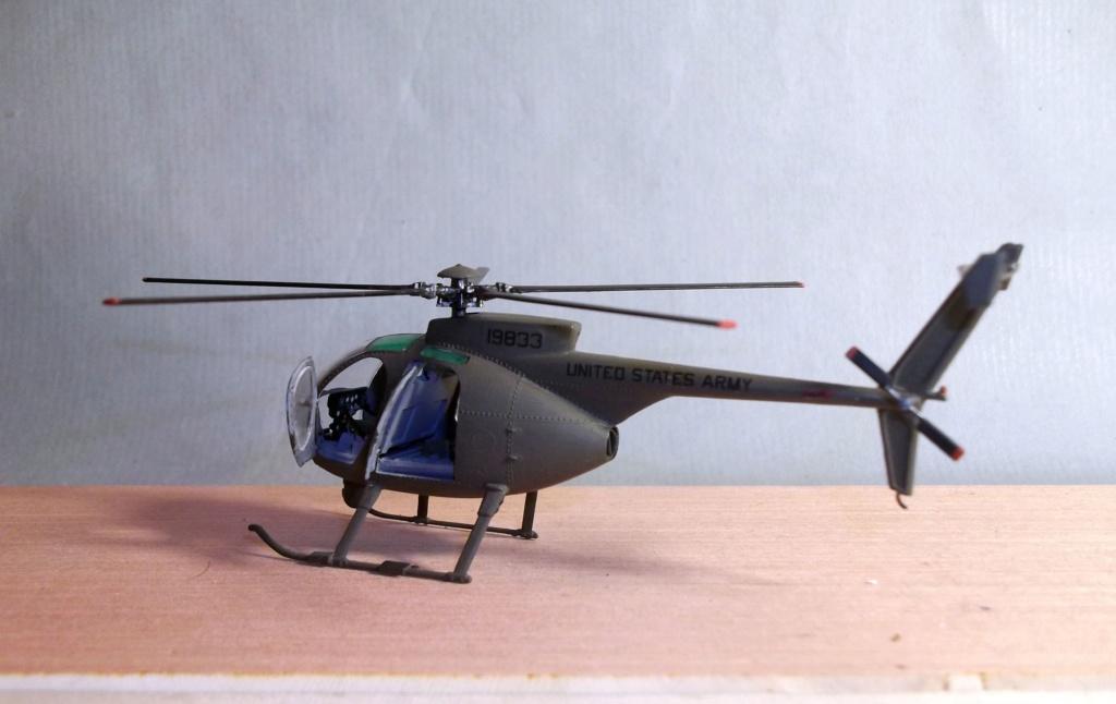 Scout (AH6) - Italeri - 1/72 Dscf8410