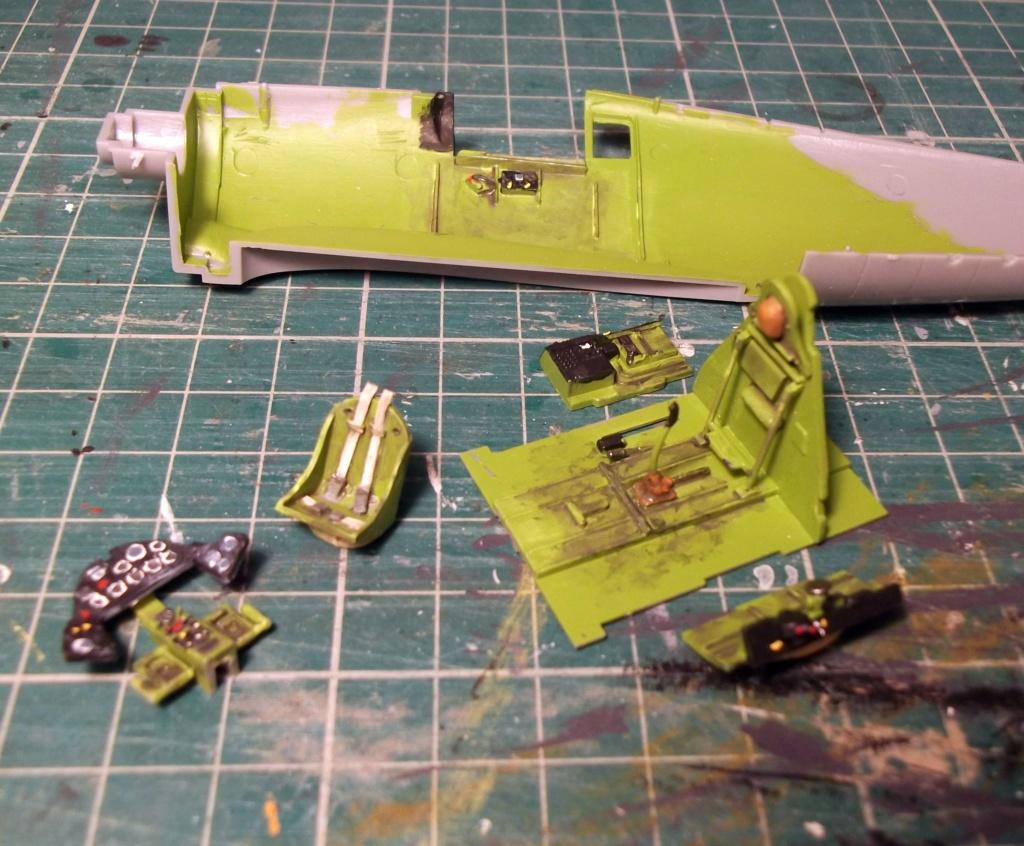 Hasegawa - F6F3 Hellcat - 1/48 Dscf8612