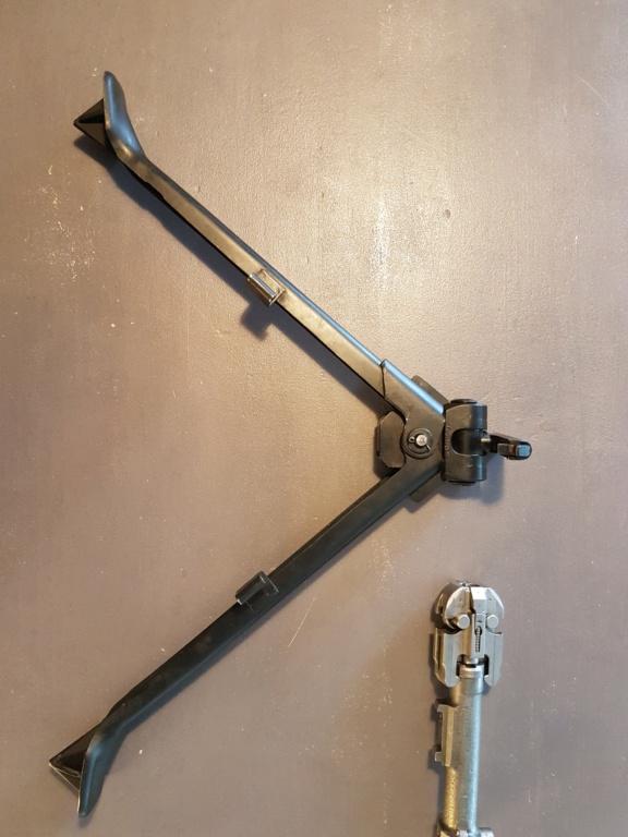 Présentation culasse,canon , bipied et crosse de ma MG 42 20181021