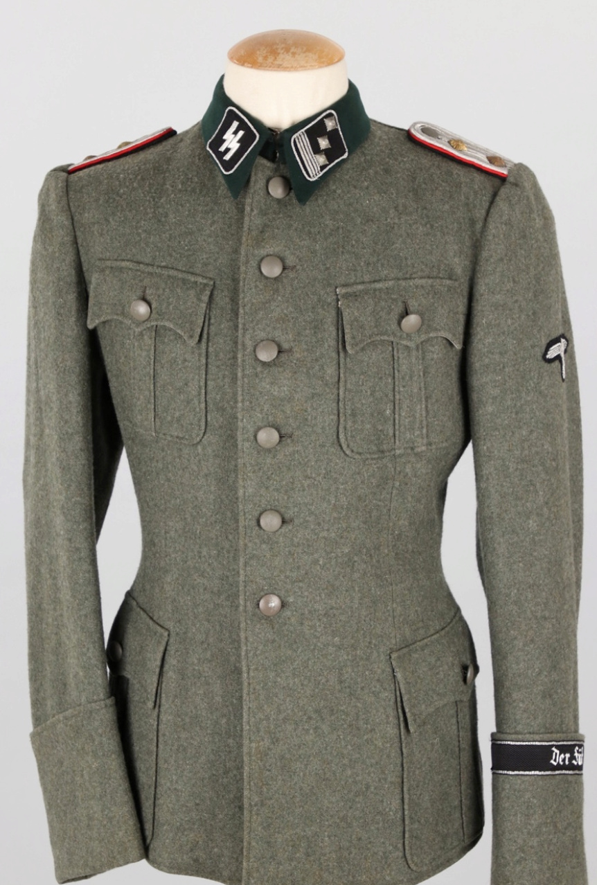 Vareuse felbuse officier Waffen SS régiment Der Führer  20190311