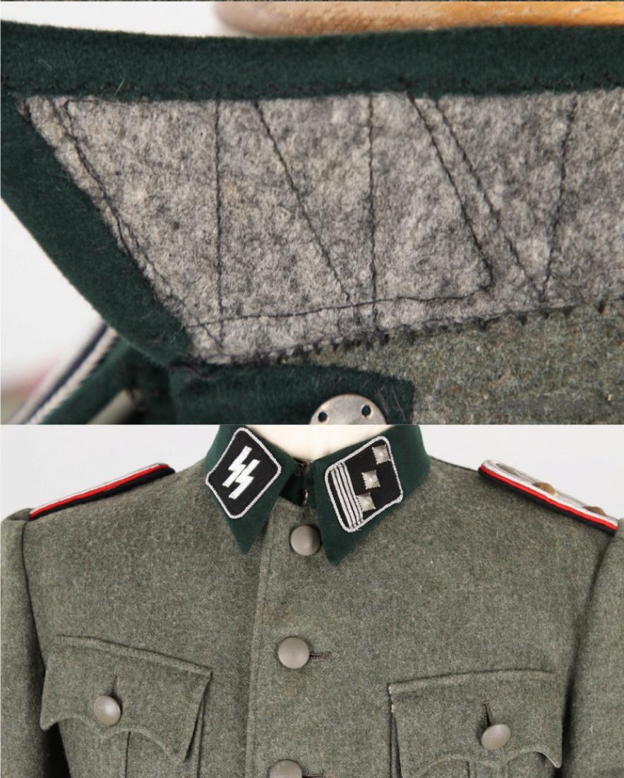 Vareuse felbuse officier Waffen SS régiment Der Führer  20190317