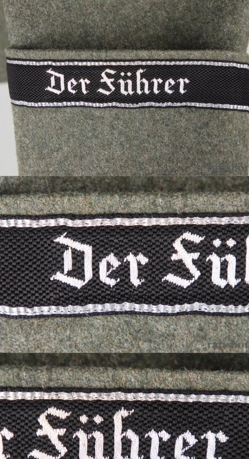 Vareuse felbuse officier Waffen SS régiment Der Führer  20190319